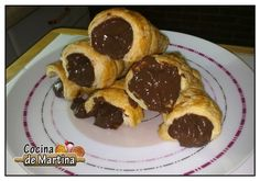 Caracolas de chocolate