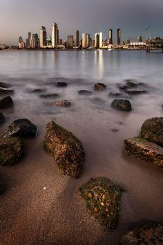 San Diego's Centenial Park on Coronado Island.