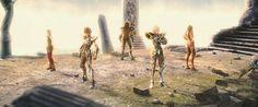 Novas imagens de Saint Seiya: Legend Of Sanctuary