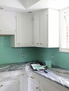 Cómo pintar azulejos (sin morir en el intento)