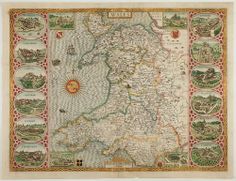 This day in 1797 - The Last Invasion of Britain by the French, begins near Fishguard, Wales. Celestial Map, Antique Maps, Cartography, Wales, Britain, French, History, Antiques, Prints