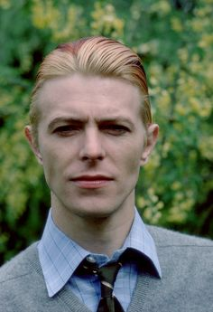 David Bowie photographed by Andrew Kent, 1976