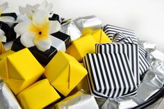 Enjoy our limited-edition Black and White Collection consisting of #black, #white and #yellow tones.