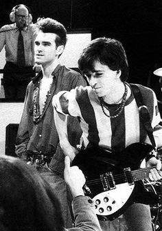 Morrissey and Johnny Marr: The Smiths on the Oxford Road Show on February Moz Morrissey, The Smiths Morrissey, Good Music, My Music, Music Stuff, The Queen Is Dead, Johnny Marr, Claudette Colbert, Charming Man