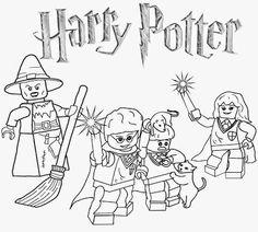 ausmalbilder lego harry potter e1540926018266