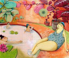 Marie Desbons, Infantiles Libros Ilustraciones (Francia) ~ Blog de un admirador del arte