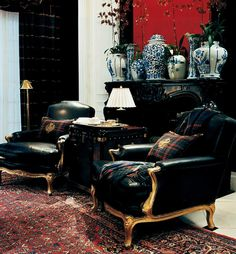 Ralph Lauren Home #Noble_Estate Collection 9 - Seatting area
