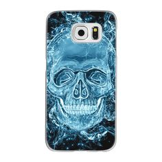 Samsung Galaxy / LG / HTC / Nexus Phone Case - Ghost skull ($40) ❤ liked on Polyvore featuring accessories, tech accessories and android case