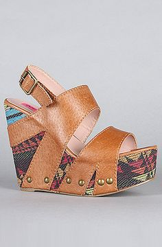 Betsey Johnson The Ajaya Shoe in Natural Leather : Karmaloop.com - Global Concrete Culture