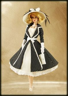 OOAK Fashions for Silkstone / Vintage barbie / Fashion Royalty