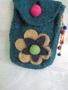 Felted Wallet by cityofangel on Etsy, $19.90