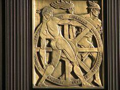 ~ Living a Beautiful Life ~ 75 Federal St Art Deco Relief, via Flickr.
