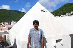 Sri Shiva Rama Krishna Pyramid Meditation Center,year of construction : 2011 size : 10ft x 10ft (roof top) | capapcity : 20 persons cost incurred :  60,000  technical support : Ramalakshimi & Srinivas contact : T Kesavarao & Padmakala, mobile : +91 92460 82318 address : D.no 36-92-286/1, Srinivasanagar, Burma camp, Kancharapalem http://www.pyramidseverywhere.org/pyramids-directory/pyramids-in-andhra-pradesh/coastal-andhra/visakhapatnam-district