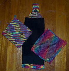 Amatulla: Kitchen Dish Towel Topper Knitting Pattern