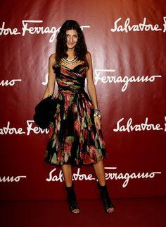 Giovanna Battaglia Photo - Salvatore Ferragamo - Seize The Moment - Party: Milan Fashion Week S/S 2011