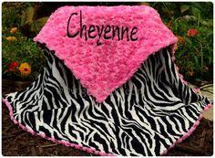 Hey, I found this really awesome Etsy listing at http://www.etsy.com/listing/153602138/zebra-baby-blanket-zebra-minky-sorbet