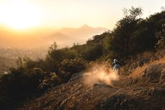 My final evening in Chile was spent riding Las Varas in the hills above Santiago during golden hour.  One hour after this shot was taken I would be at the airport about to begin my long journey home, wishing I had more time to spend in one of my favorite countries with some fantastic friends I have made there over the years.
