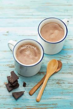 Next time you have an urge for a warm, chocolaty drink, rather than reaching for a packet of processed hot cocoa mix, make your own hot chocolate from a few simple ingredients.
