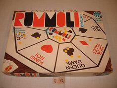 Rummoli Hui, My Childhood, Board Games, Play, Toys, Classic, Handmade Gifts, Vintage, Activity Toys