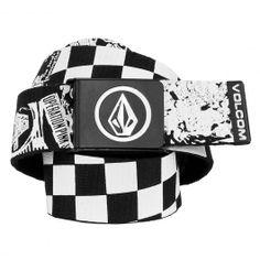 Volcom ceinture circle web belt art black white 20,00 € #volcom #volcomstone #skate #skateboard #skateboarding #streetshop #skateshop @PLAY Skateshop