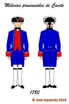 Milicias Provinciales de Cavite,  1780
