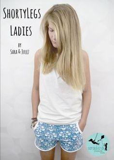 Dieses Ebook beinhaltet Schnitt und Anleitung für eine superbequeme Sommer-Shorts für Ladies.