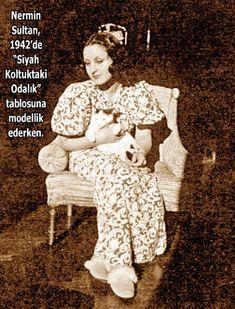 Modellik ettiği Henri Matisse tarafından yapılan tablosu Londra'da 44 milyon liradan mezata konan Türk Prensesi Nermin Sultan, 1998'de Fransa'da bir hastahanenin yoksullar koğuşunda can vermişti. 20. yüzyıl resminin en önemli isimlerinden olan... Southern Europe, Ottoman Empire, Henri Matisse, Historical Pictures, Family Photos, Istanbul, History, Movie Posters, Pictures
