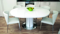 Stock Half Circle Dining Table Culturesphereco Half Round Kitchen Table Free Kitchen Table Thinkstock Table Top With Blurred People And Kitchen Background Stock Image Oval Kitchen Table, White Round Dining Table, Coffee Table To Dining Table, White Leather Dining Chairs, Table Seating, Modern Dining Table, Table And Chairs, Dining Set, Bar Tables