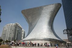 Soumaya museum in Mexico-Stad - alle projecten - projecten - de Architect