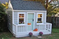 door and porch for playhouse