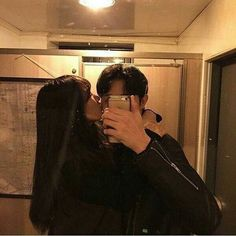 Discovered by kwon. Find images and videos about couple, ulzzang and love on We Heart It - the app to get lost in what you love. Mode Ulzzang, Korean Ulzzang, Ulzzang Girl, Couple Goals, Cute Couples Goals, Cute Relationship Goals, Cute Relationships, Cute Korean, Korean Girl