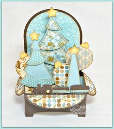 Christmas Tree Box Card
