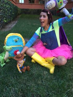 An Adorable Halloween Costume Idea Bonnie From Toy Story 3 Fall