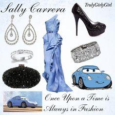 Disney Style: Sally Carrera, created by trulygirlygirl on Polyvore