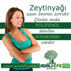 Antioksidanlar uzun ve sağlıklı ömrün sırrıdır :) www.adaliefe.com