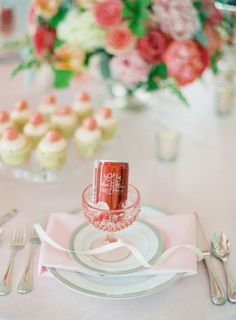 Perfectly Girly details for a fab Bridal Shower like these single serving Champagne favors Flower Bar, Girly, Shower Inspiration, Event Design, Minimal Chic, Wedding Details, Floral Design, Butler, Bridal Showers