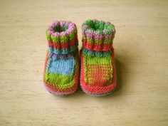 These are fun to knit and make a great fast baby gift (free pattern).