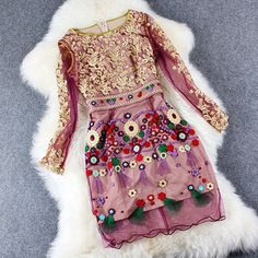 Summer Dress 2015 new Spring High quality clothing Slim embroider dress Cute XXL XXXL size fashion women Luxury Vintage dresses-in Dresses from Women's Clothing & Accessories on Aliexpress.com | Alibaba Group