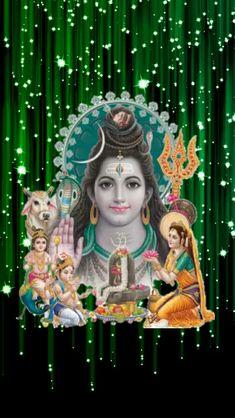 Om Namah Shivay, Lakshmi Images, Lord Shiva Family, Lord Vishnu Wallpapers, Lord Shiva Painting, Shiva Shakti, Goddess Lakshmi, Galaxy Wallpaper, Ganesh