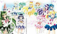 sailors senshis manga