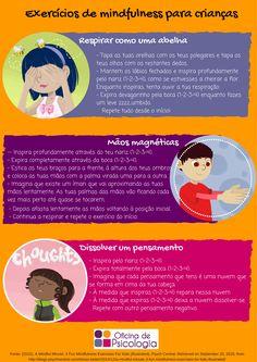 3 exercícios de mindfulness para fazer com o seu filho