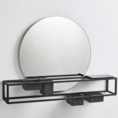 Mirror Box is much more than just a mirror. Nordic Design, Scandinavian Design, Marble Plates, Mirror Box, Steel Frame Construction, Scandinavian Furniture, Metal Shelves, High Quality Furniture, Black Marble