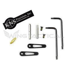 KNS Precision .154 Non-Rotating Trigger & Hammer Pins: Gen JJ | Wing Tactical