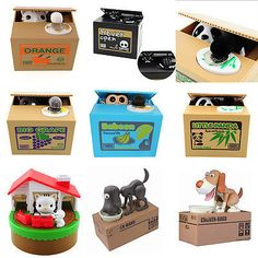 Cute itazura stealing coin cat #penny cents piggy bank #saving box #monkey kids,  View more on the LINK: http://www.zeppy.io/product/gb/2/252022983258/