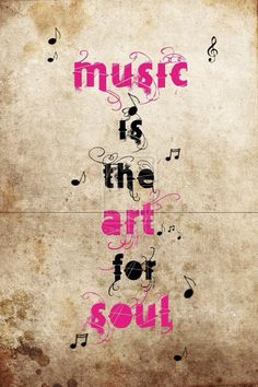 music is the art..