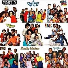 Black Sitcoms from the My Black Is Beautiful, Black Love, Black Sitcoms, Afro, Black Tv Shows, 90s Tv Shows, A Different World, Black Women Art, Black Art