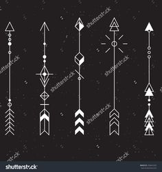 Arrow Tattoo Stock Vectors & Vector Clip Art | Shutterstock