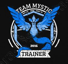 Team Mystic 2016 Pokemon Go graphic tee from Quertee Pokemon Go Team Mystic, Pokemon Team, Pokemon Memes, Mystic Team, Ice Pokemon, Azul Pokemon, Random Pokemon, Equipe Pokemon, Funny Tee Shirts