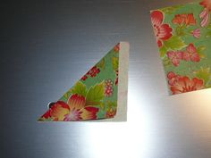 Un petit tuto - boucle d'oreille origami