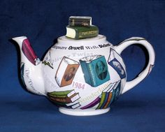 Tea and books; inseparable. Very sweet.